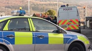 Police in Aberdare