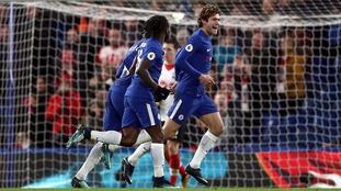 Premier League: Alonso strike sees Chelsea past Southampton
