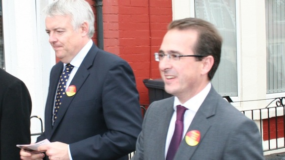 Carwyn Jones and Owen Smith