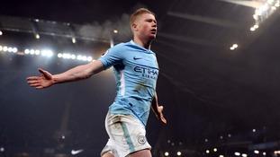 Premier League: Superb Man City hit Spurs for four