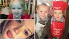 Appeal for children killed in blaze hits £15,000 target