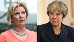 Theresa May has called for tolerance after some MPs, including Anna Soubry, received death threats.