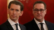 Austria's far-right given key government posts