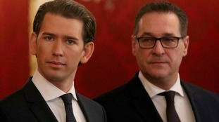 Austria's far-right given key government posts in coalition led by Sebastian Kurz's People's Party