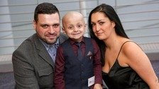 Bradley Lowery honoured at 'Sports Personality of the Year' awards