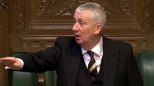 Natalie's father is the House of Commons deputy speaker Lindsay Hoyle.