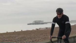Worthing window cleaner to cycle 500 kms in one day