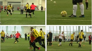 Hundreds of footballers compete in Man V Fat tournament