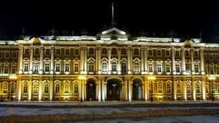 The Winter Palace in St Petersburg