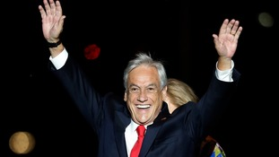 Sebastian Pinera wins presidential run-off in Chile beating Alejandro Guillier