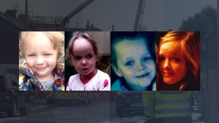 Lia, three, Lacie, seven, Brandon, eight, and 15-year-old Demi.