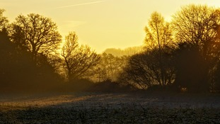 Anglia Weather: Frosty start with sunshine later
