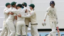 England suffer Ashes thrashing after rain hope fades