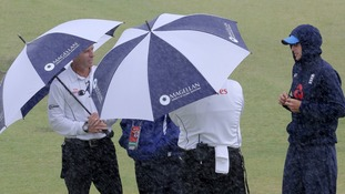 The rain clouds had offered England hope of a final day washout.