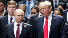 Putin thanks Trump for CIA tip that thwarted bomb plot