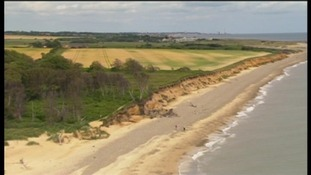 The Environment Agency has published maps showing coastal erosion threat
