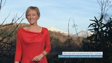 Wales weather: Fine and sunny!
