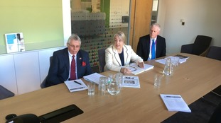 The Council Leaders laid out the proposals in a briefing at their HQ, One Angel Square.