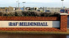 RAF Mildenhall in lockdown after 'significant incident'