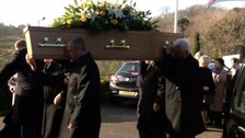 Tommy Horton's funeral takes place in Jersey