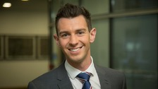 Meet ITV Anglia's new weather presenter Chris Page