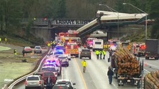 At least six killed as train derails south of Seattle