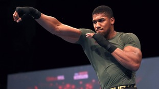 I'll be ready for Tyson Fury whenever he wants, says Anthony Joshua