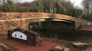 Historic bridge rebuilt in Cumbria after £1.1m project