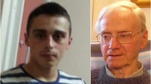 Alexander Palmer (24) denies murdering Peter Wrighton (83) in woodland in Norfolk.