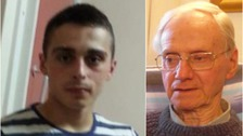 Alexander Palmer (24) denies murdering Peter Wrighton (83) in woodland in Norfolk.