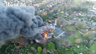 Three teenagers arrested over arson at a former school