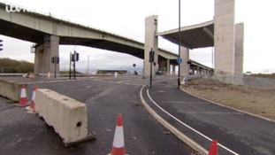New A57 bridge opens