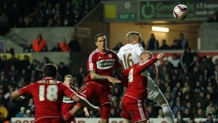 Swansea face Middlesbrough