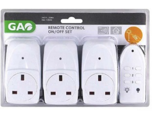 The remote control trio set which B&Q is recalling