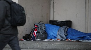 Government attempts to tackle 'national crisis' of homelessness in England an 'abject failure', report says