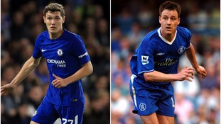 Antonio Conte tips Andreas Christensen to replicate John Terry's success at Chelsea