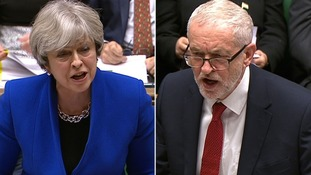 May and Corbyn clash over the NHS in final PMQs of year