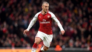 Jack Wilshere is hopeful his return to the first team can lead to a place in the England squad for next year's World Cup