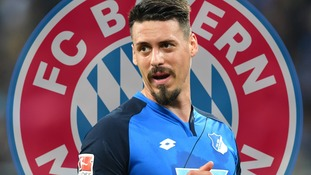 Bayern Munich sign Hoffenheim and Germany striker Sandro Wagner