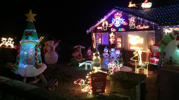 Christmas Decorations Bring Festive Spirit To The Border Region