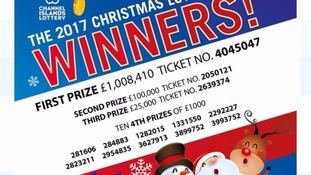 Second prize in the CI Christmas Lottery still out there