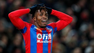Hodgson can give no guarantees about Zaha's Crystal Palace future