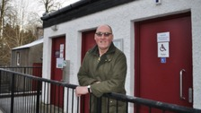 Douglas Heatlie won Scottish Individual Cleaner of the Year