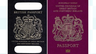 UK passports to turn blue after Britain leaves the European Union