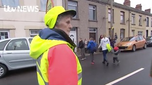 School says goodbye to the Lollipop Lady who's been keeping generations safe