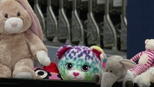 East Midlands Airport want to find lost toy owners