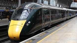 A train at London Paddington