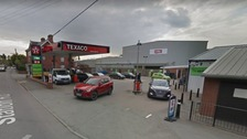The incident happened in this forecourt, according to West Mercia Police. 73 of
