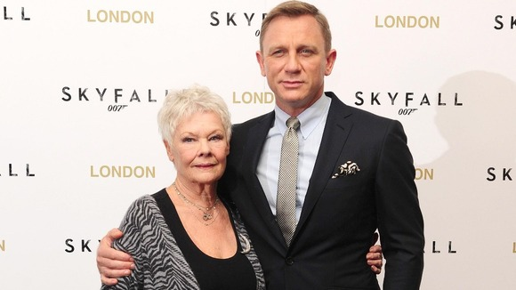 Could they be in for Bond's first Best Film Oscar? Daniel Craig and Judi Dench