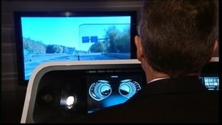 Harman's entertainment system allows you to control your car's music system by gesturing